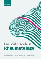 The Foot and Ankle in Rheumatology PDF