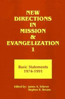 New Directions in Mission and Evangelization  Basic statements 1974 1991 PDF