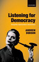 Listening for Democracy PDF