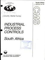 Industrial Process Controls  South Africa PDF