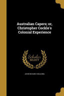 AUSTRALIAN CAPERS OR CHRISTOPH