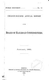 Annual Report of the Board of Railroad Commissioners: Part 24
