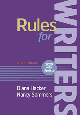 Rules for Writers with Writing about Literature with 2020 APA Update