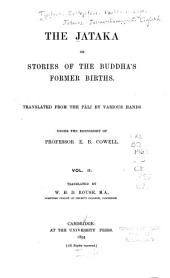 The Jātaka: Or, Stories of the Buddha's Former Births, Volume 2