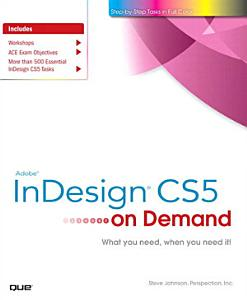 Adobe InDesign CS5 on Demand PDF