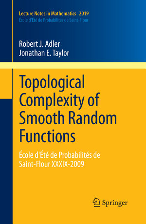 Topological Complexity of Smooth Random Functions