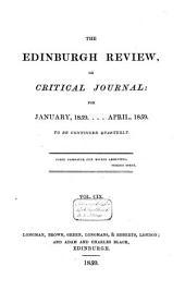 The Edinburgh Review: Volume 75; Volume 109