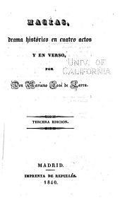 Macías: drama histórico en cuatro actos y en verso