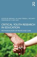 Critical Youth Research in Education PDF