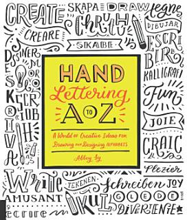 Hand Lettering A to Z Book