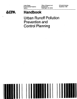 Urban runoff pollution prevention and control planning