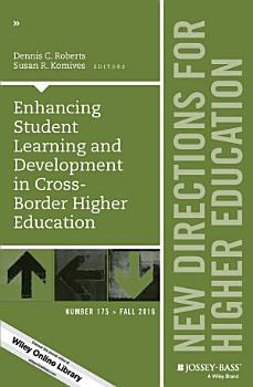 Enhancing Student Learning and Development in Cross Border Higher Education PDF