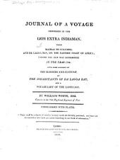 Journal of a Voyage Performed in the Lion Extra Indiaman, from Madras to Columbo and Da Lagoa Bay ... in the Year 1798: With Some Account of the Manners and Customs of the Inhabitants of Da Lagoa Bay and a Vocabulary of the Language