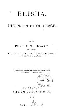 Elisha  the Prophet of Peace PDF