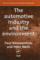The Automotive Industry and the Environment PDF