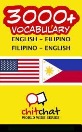 3000+ English - Filipino Filipino - English Vocabulary