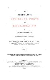The Anglo-Latin satirical poets and epigrammatists of the twelfth century: The Anglo-Latin satirical poets of the twelfth century