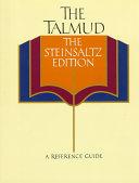 The Talmud  the Steinsaltz Edition