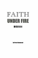 Faith Under Fire in Sudan PDF