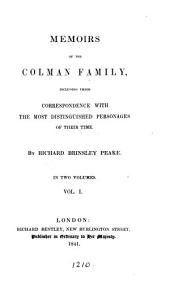 Memoirs of the Colman family, including their correspondence