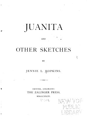 Juanita and Other Sketches PDF