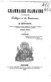 Grammaire flamande à l'usage des colléges et des pensionnats: Volume2