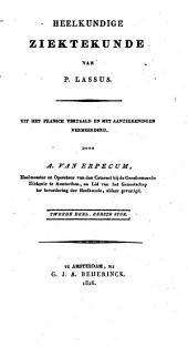 Heelkundige Ziektekunde van P. Lassus