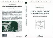 Ecrits sur la langue des signes français