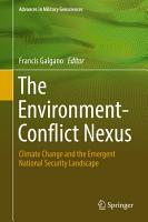 The Environment Conflict Nexus PDF