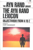 The Ayn Rand Lexicon PDF