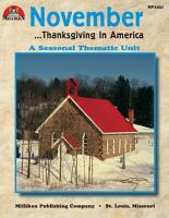 November Thanksgiving in America  eBook  PDF