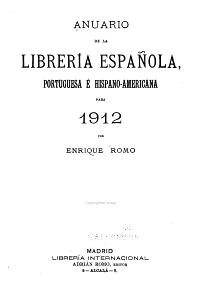 Anuario de la librer  a espa  ola  portuguesa e hispanoamericana PDF