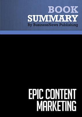 Summary  Epic Content Marketing PDF