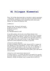 El Diloggun Elemental