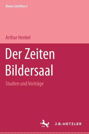 Der Zeiten Bildersaal PDF