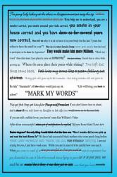 Mark My Words   PDF