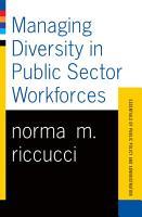 Managing Diversity In Public Sector Workforces PDF
