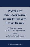 Water Law and Cooperation in the Euphrates Tigris Region PDF