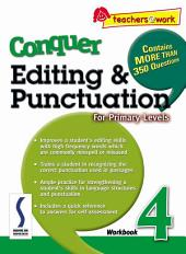 e-Conquer Editing & Punctuation Workbook 4
