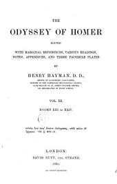 The Odyssey of Homer: Books XIII to XXIV