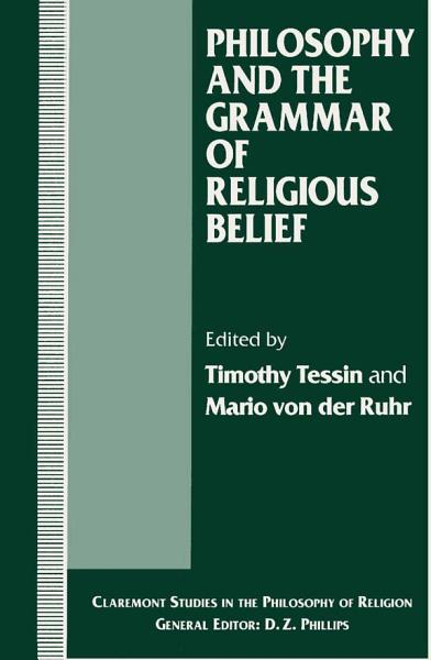 Philosophy and the Grammar of Religious Belief