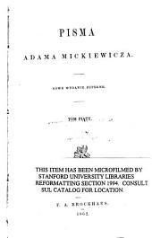 Pisma Adama Mickiewicza: Tom 12