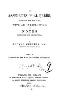 Containing the First Twenty six Assemblies PDF
