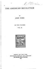 The American Revolution: Volume 2