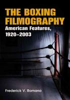 The Boxing Filmography PDF