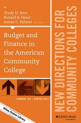 Budget And Finance In The American Community College Book PDF