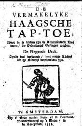 De vermakelyke Haagsche Tap-Toe