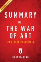The War of Art PDF