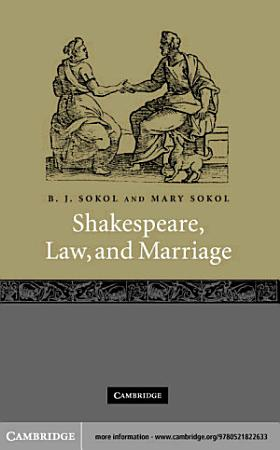 Shakespeare  Law  and Marriage PDF