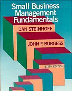Small Business Management Fundamentals PDF